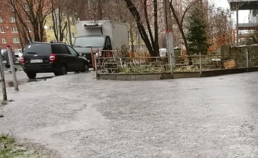 ледяной дождь в Перми