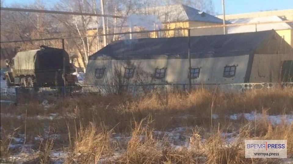 Сергей Шойгу прибыл в воинскую часть Чебаркуля, где до сих пор нет отопления