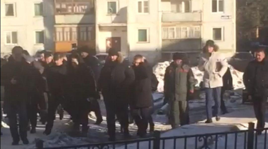 У Алексея Текслера в Чебаркуле замерзли уши