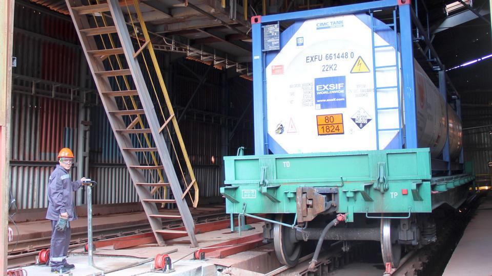 УАЗ переходит на современные технологии перевозки сырья