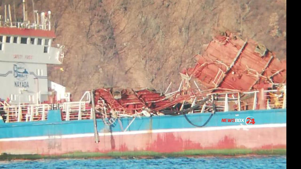 В Находке на танкере произошёл хлопок газа, два человека погибли