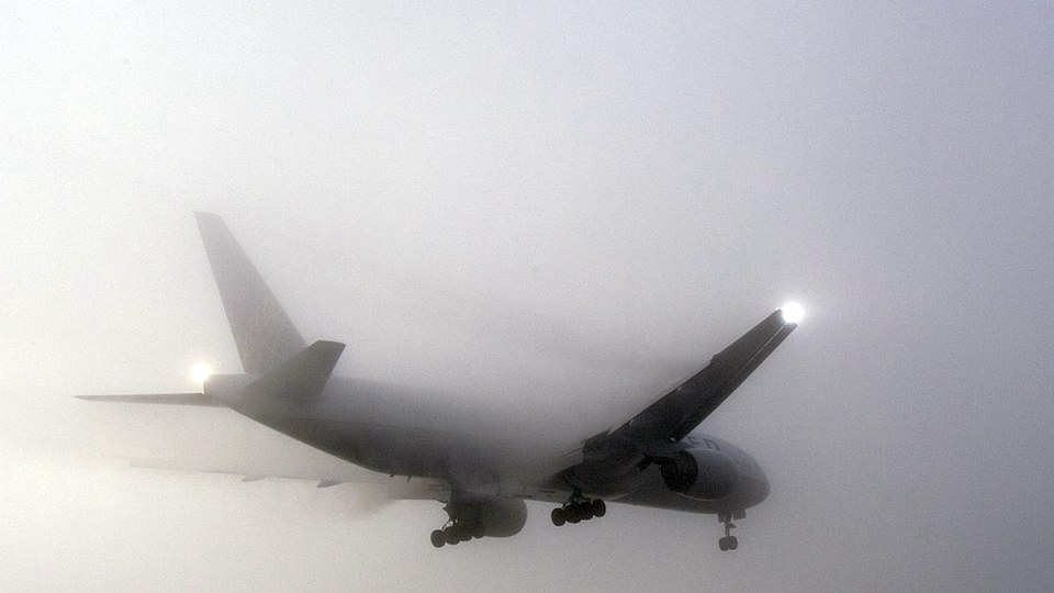 Туман стал причиной отмены 15 рейсов в трех аэропортах Москвы