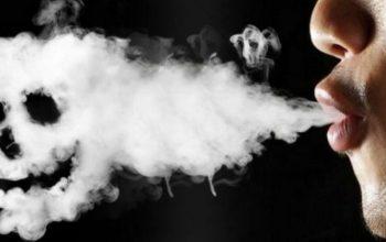 В США курение вейпов