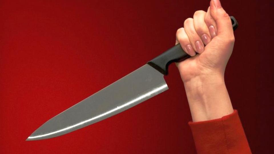 На Урале нетрезвая сотрудница бара напала с ножом на посетителя
