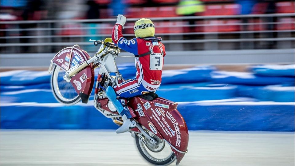 Дмитрий Хомицевич стал первым по результатам двух дней финала Личного Чемпионата РФ по мотогонкам на льду