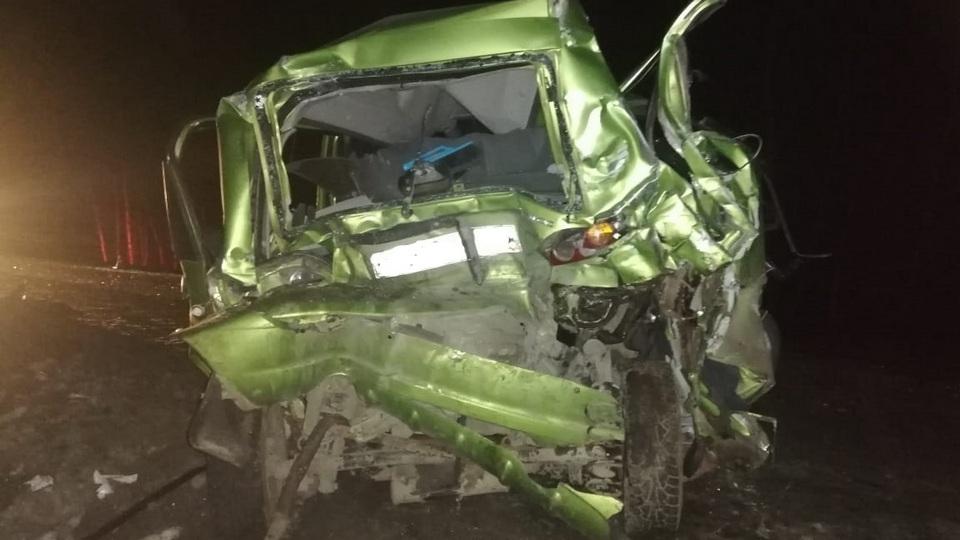 В аварии с микроавтобусом под Каменском пострадал ребенок