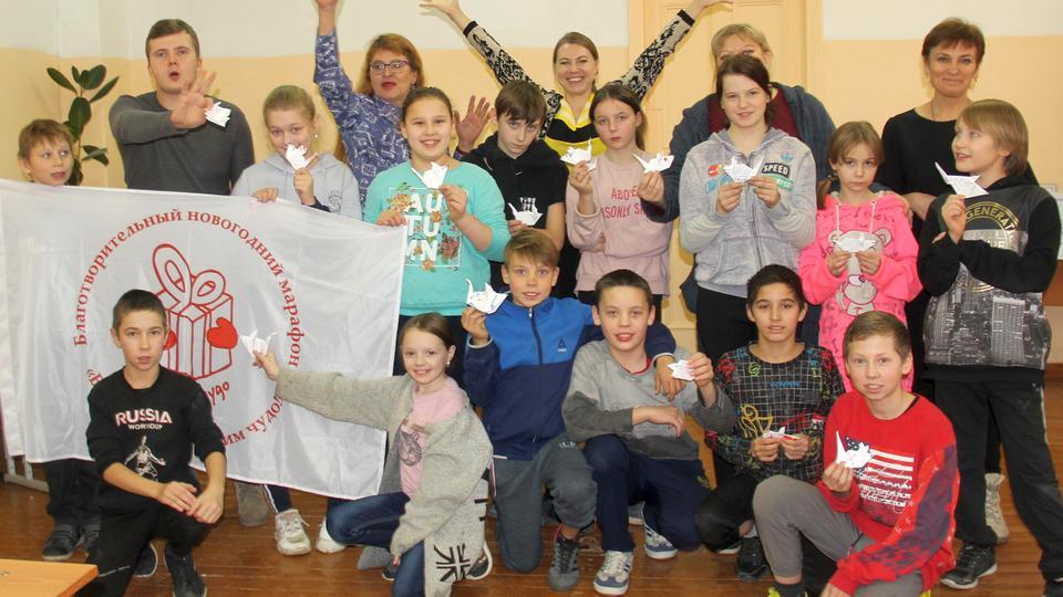 Волонтерская команда УАЗа побывала в гостях у воспитанников школы-интерната №27