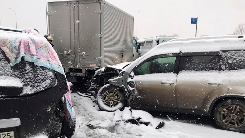 В ГИБДД Приморского края прокомментировали массовую аварию под Владивостоком