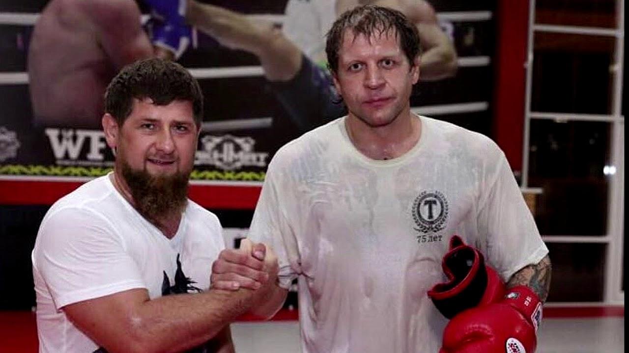 Рамзан Кадыров вызвал на поединок Александра Емельяненко