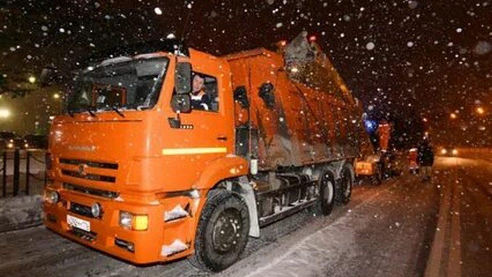 Снегопад в Каменске-Уральском