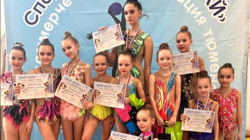 Каменские гимнастки завоевали 8 медалей на турнире в Тюмени