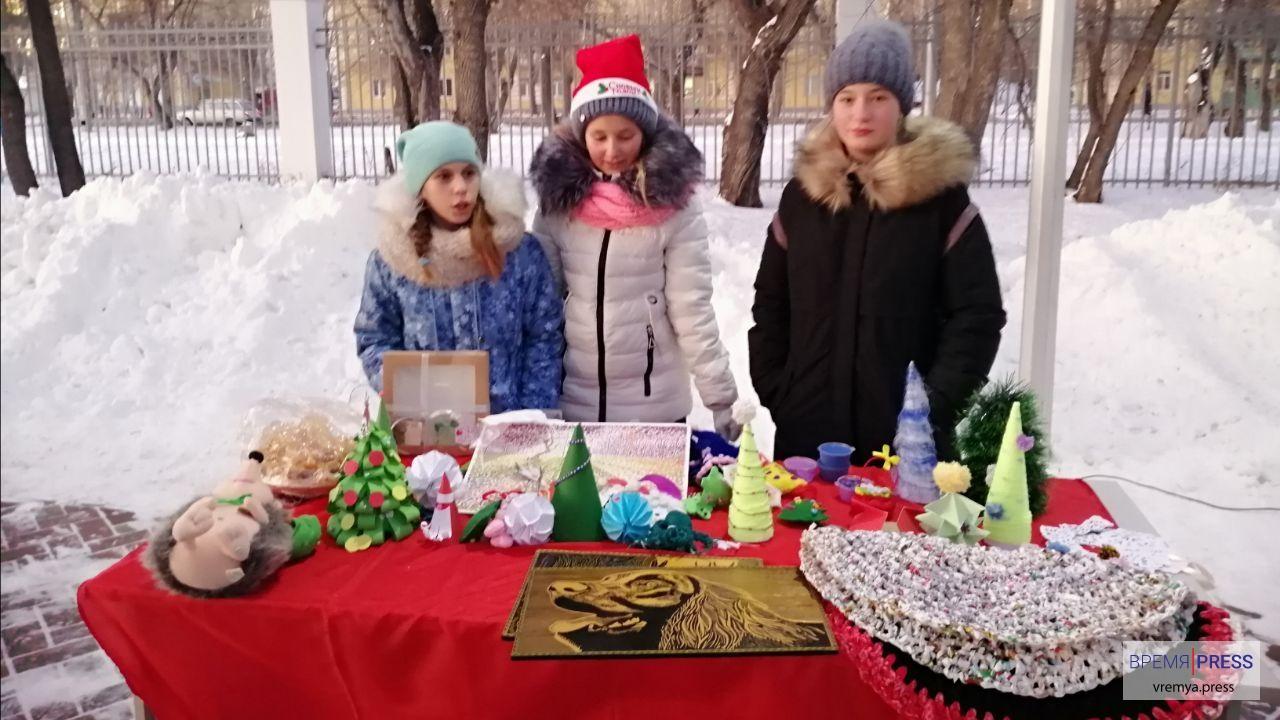 Каменцы приняли участие в благотворительном ярмарке от РУСАЛа