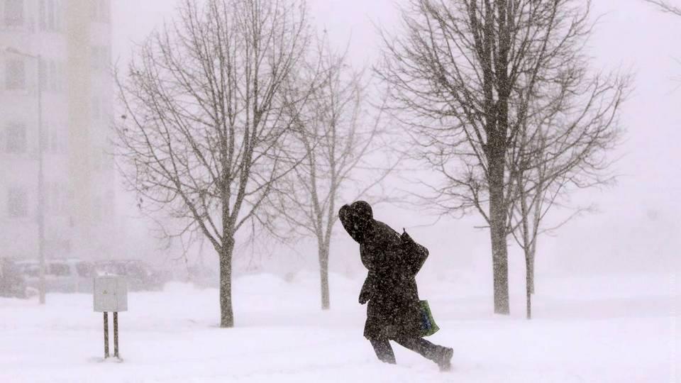 МЧС Свердловской области предупреждает о сильном снегопаде