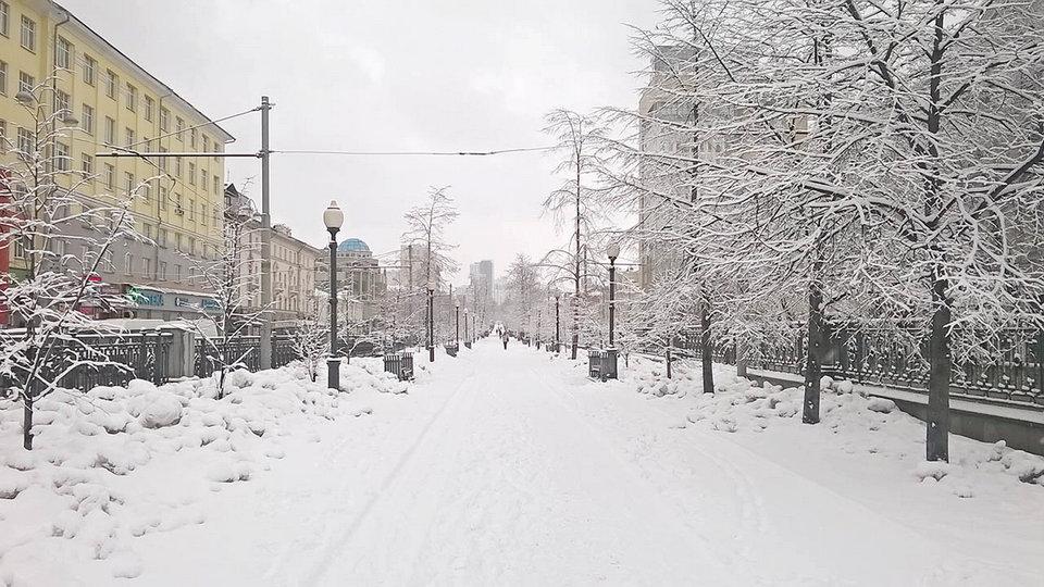 В новогодние каникулы на Урале будет пасмурно и тепло