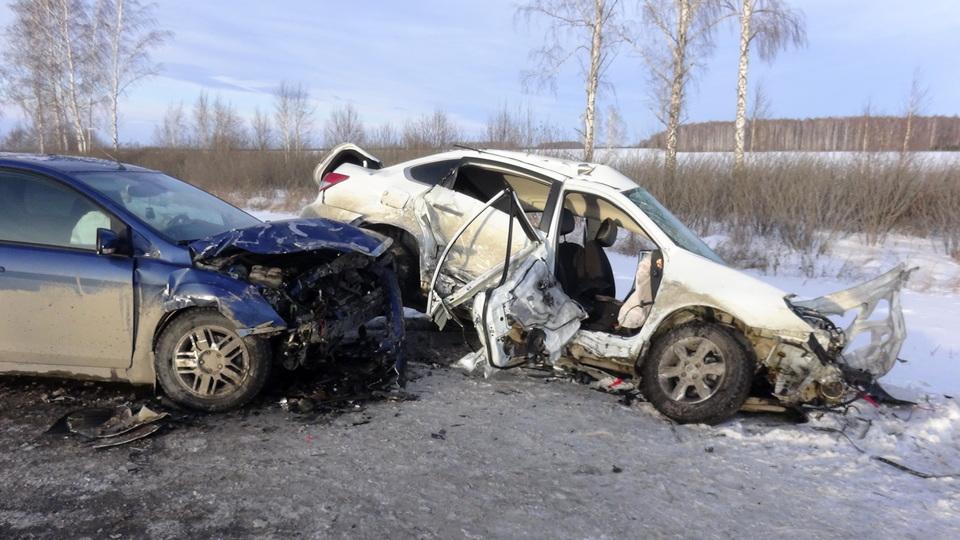 В ГИБДД рассказали подробности аварии под Каменском-Уральским, где погиб человек