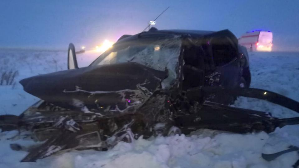 Трое взрослых и один ребенок пострадали в ДТП под Каменском-Уральским