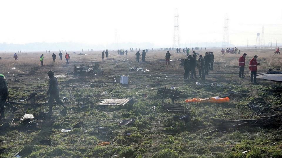 Упавший в Иране украинский самолет успешно прошел предполетный контроль
