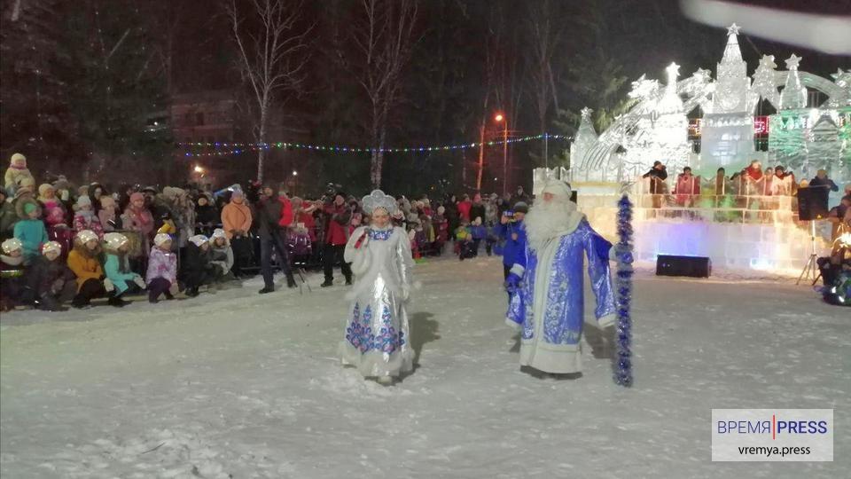 Ледовые городки в Каменске-Уральском завершат работу 19 января