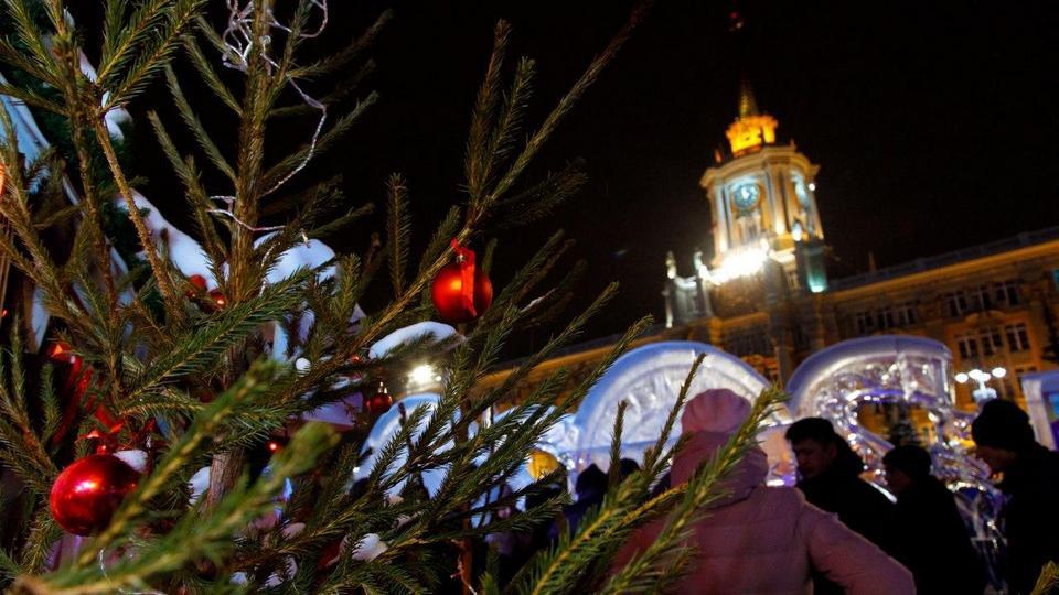Жителей и гостей Екатеринбурга выгоняли с ледового городка в новогоднюю ночь