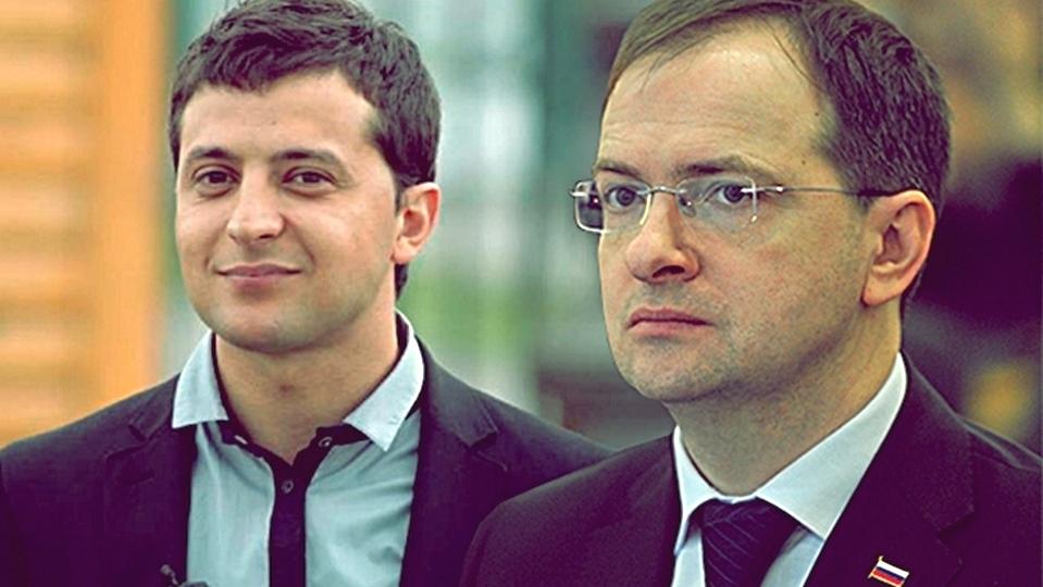 Мединский предложил помощь Зеленскому для подготовки его выступлений