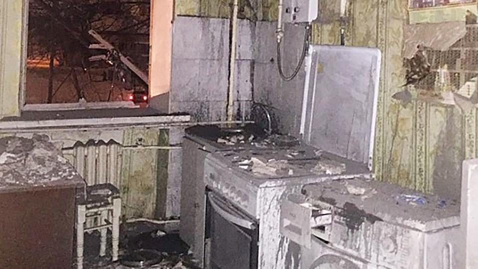 Четыре квартиры оказались повреждены после взрыва газа в жилом доме в Уфе