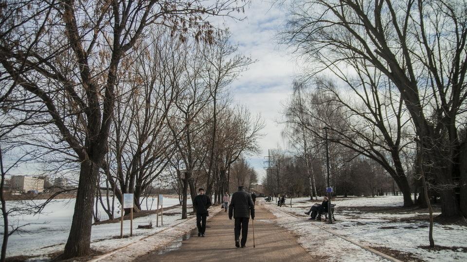 Оттепель пришла в Свердловскую область