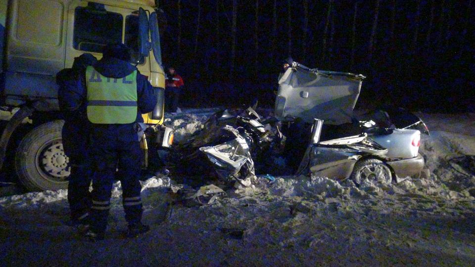 Один человек погиб в аварии под Каменском-Уральским