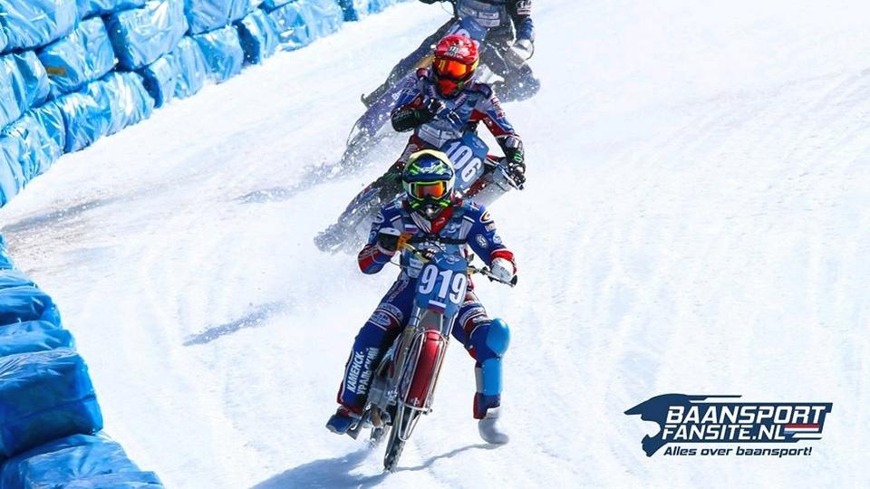 Каменский спортсмен Дмитрий Хомицевич выступил в финале личного Чемпионата мира по мотогонкам на льду