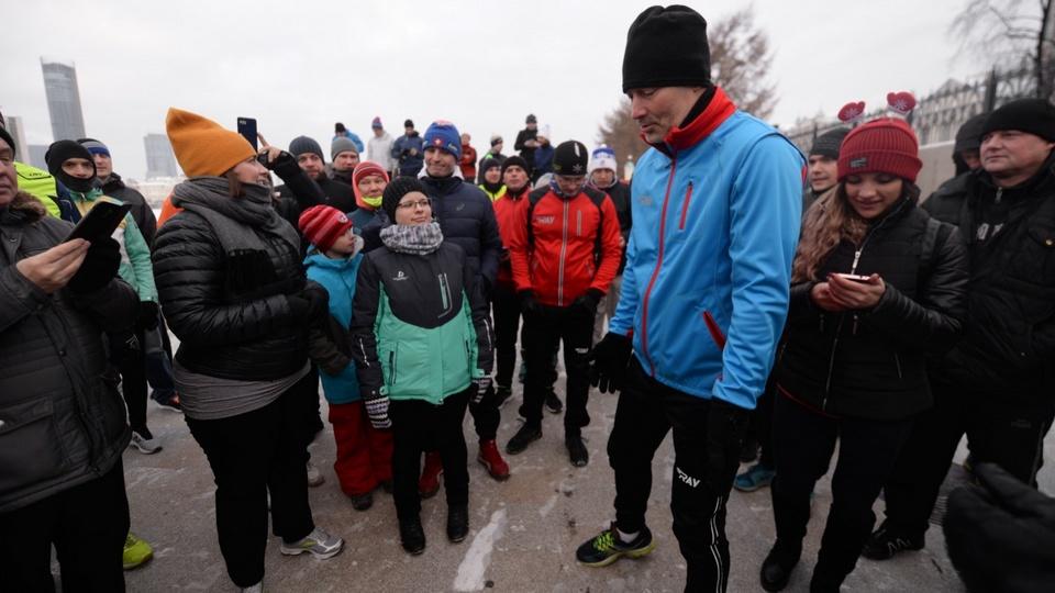 Евгений Ройзман собрался на пробежку в Киев