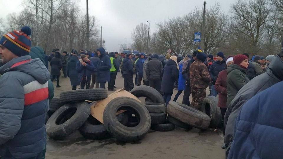 Жители Украины объяснили протесты против приехавших из Китая соотечественников