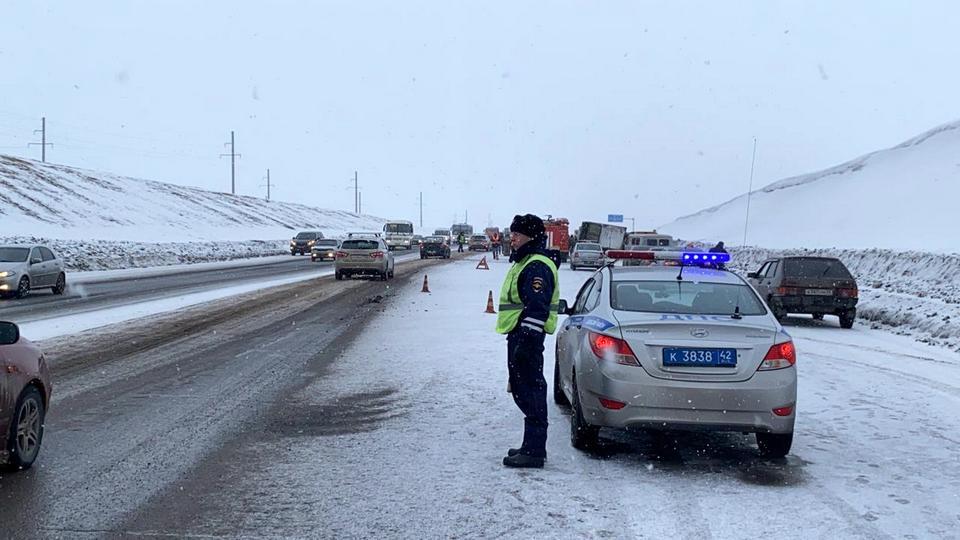 Пять человек погибли в ДТП под Новокузнецком