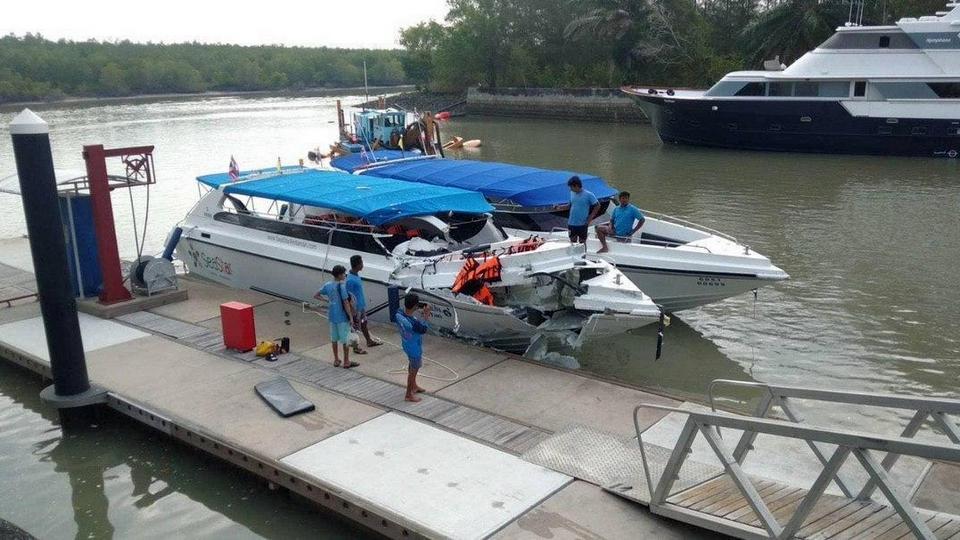 Двое детей из России погибли при столкновении катеров на острове Пхукет