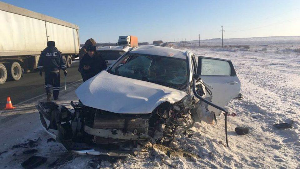 В аварии под Челябинском погибли три человека