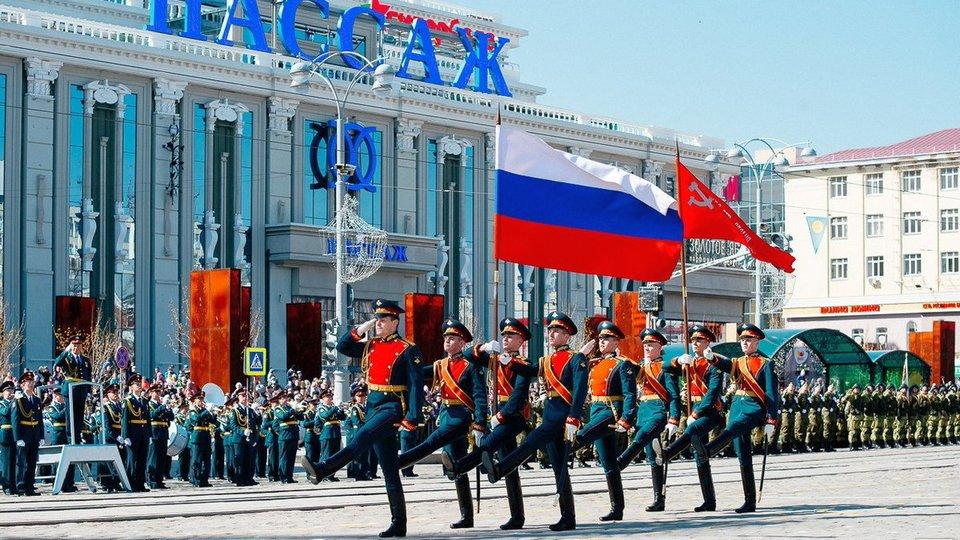 Шесть репетиций Парада Победы пройдет в центре Екатеринбурга