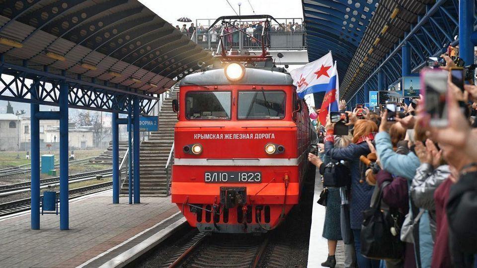 Поезда из Екатеринбурга в Крым отправятся в апреле