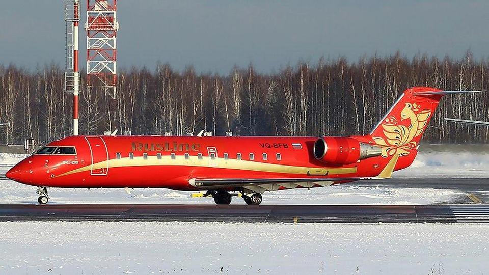 Самолет из Екатеринбурга совершил экстренную посадку в Томске