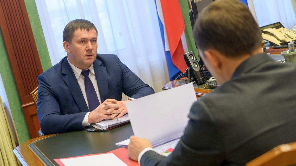 Куйвашев официально предложил Шмыкову стать своим заместителем