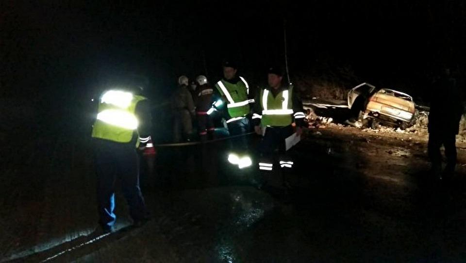 В лобовом ДТП около Косулино погибли пять человек