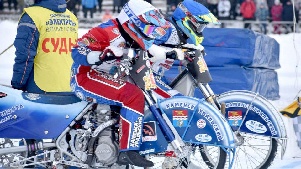 Василий Несытых стал вице-чемпионом Кубка России по мотогонкам на льду