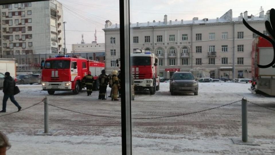 В Екатеринбурге эвакуировали небоскреб Высоцкий