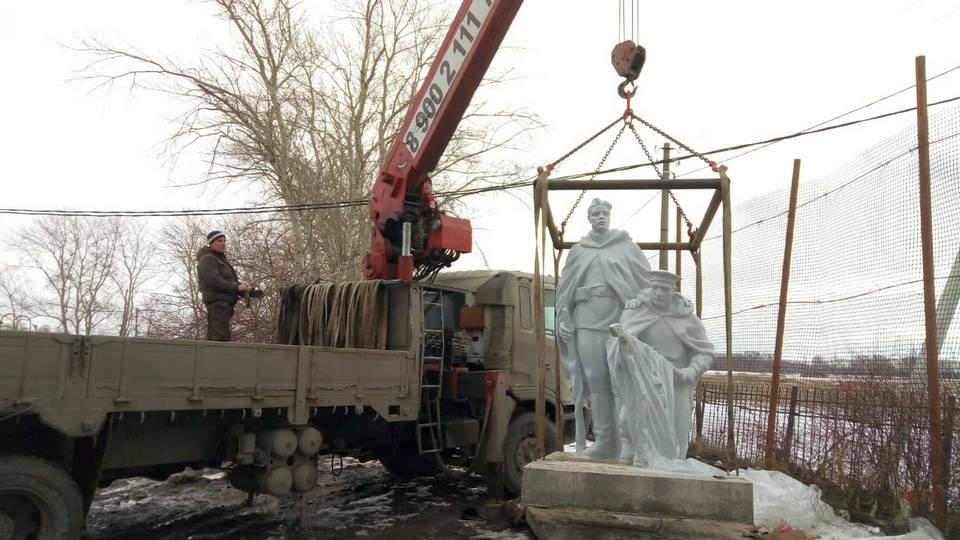 Памятник героям войны и труженикам тыла установили в Каменске-Уральском