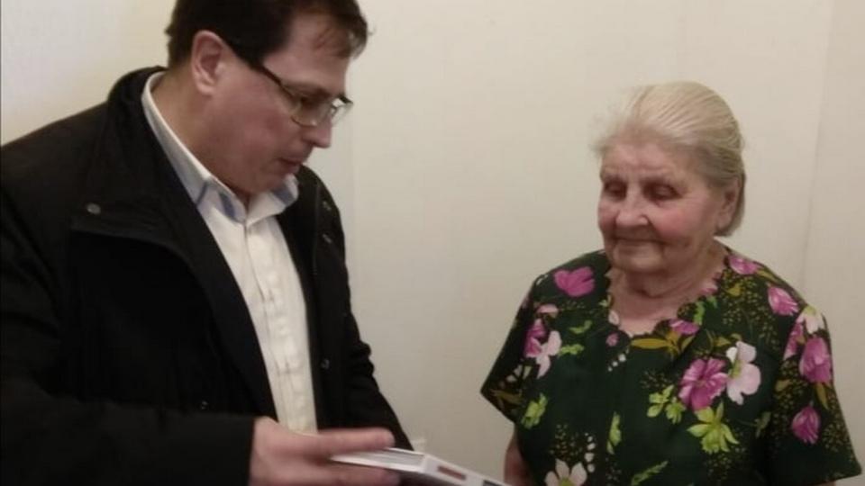 Глава Синарского района Алексей Ялунин поздравил фронтовиков и тружеников тыла