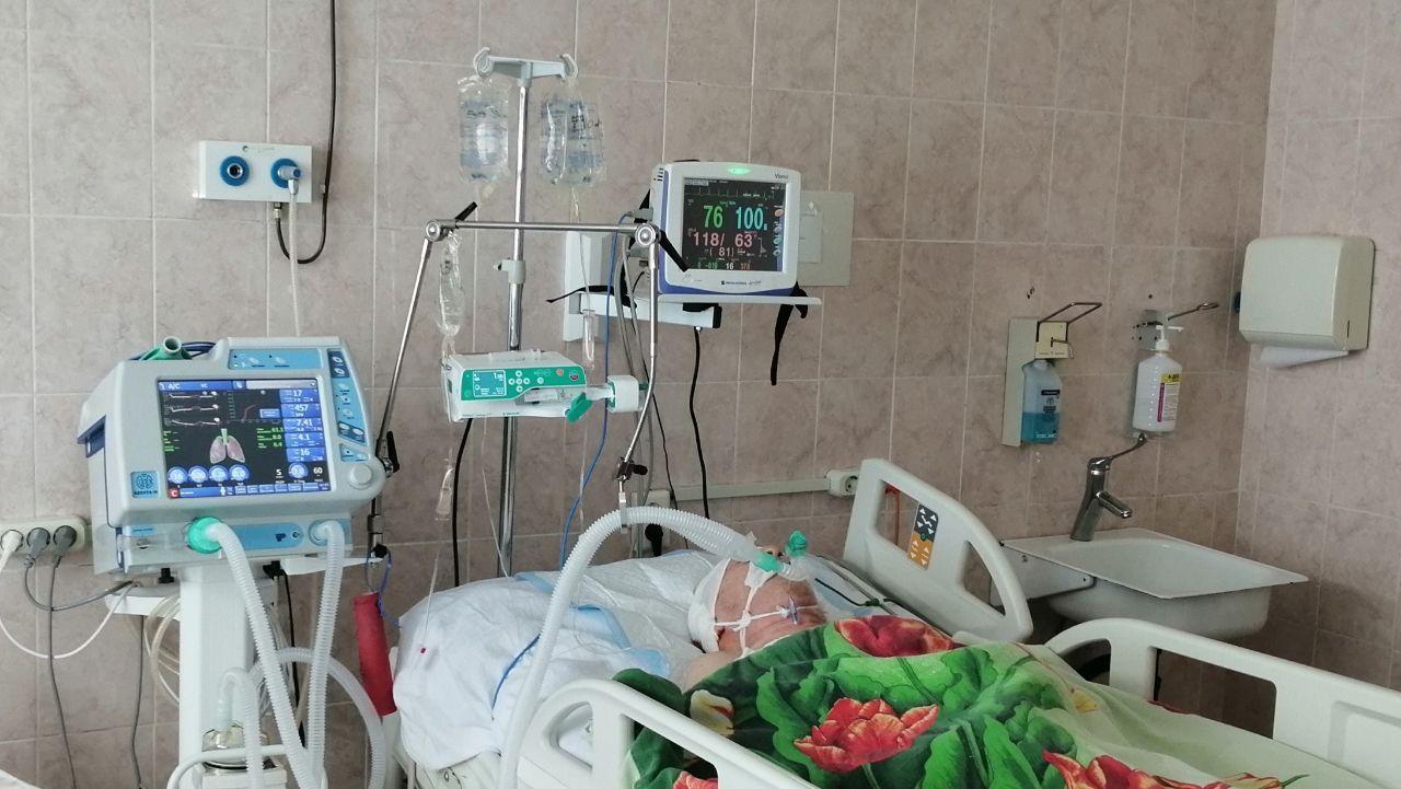 Новое оборудование поступило в реанимационное отделение городской больницы