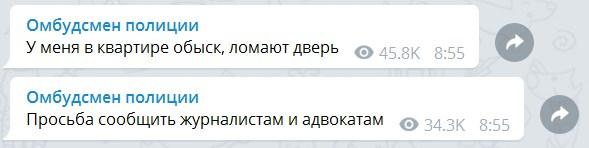 "Автора Telegram-канала ""Омбудсмен полиции"" накажут за фейки о коронавирусе"
