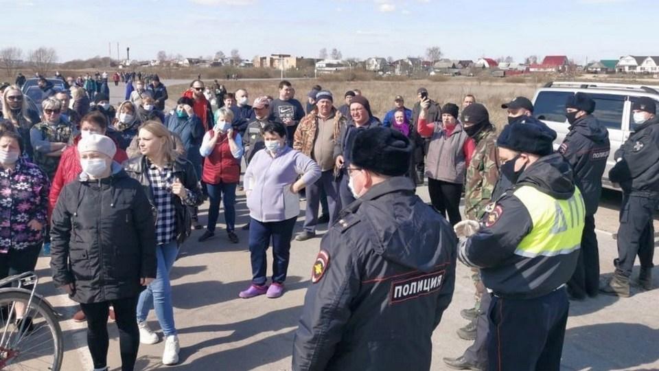Два села в Рязанской области оказались отрезаны от мира из-за пандемии