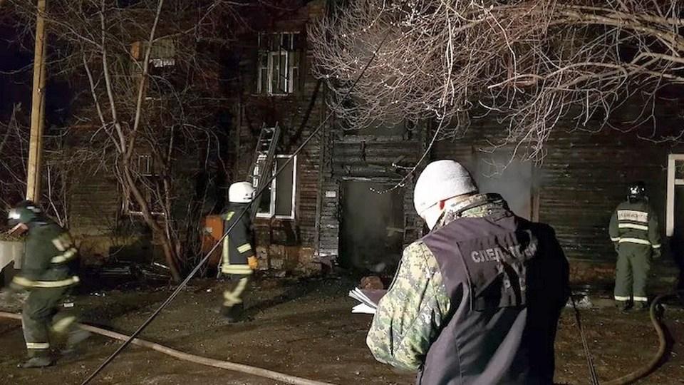 В Екатеринбурге задержали подозреваемого в поджоге дома, где сгорели люди