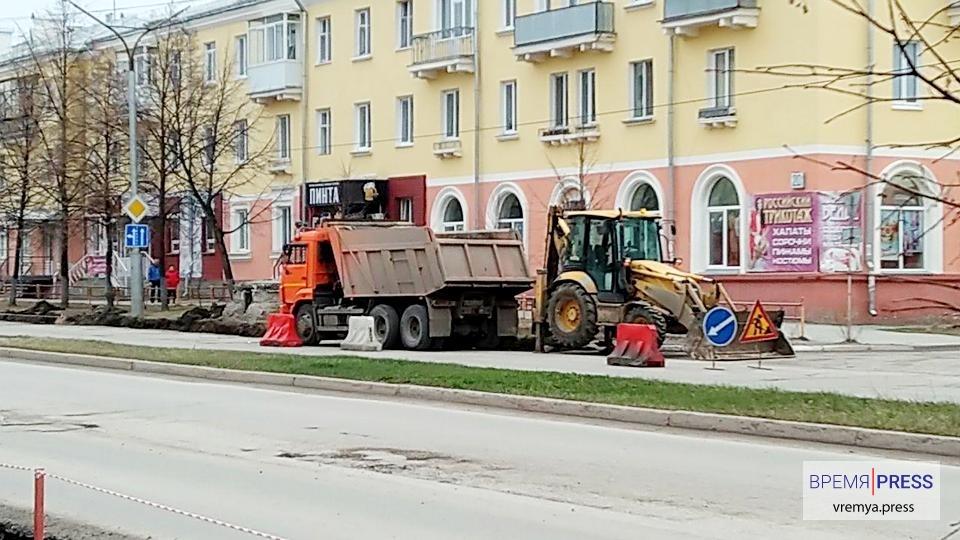 В Каменске-Уральском начались фрезеровочные работы на привокзальной площади и улице Кунавина