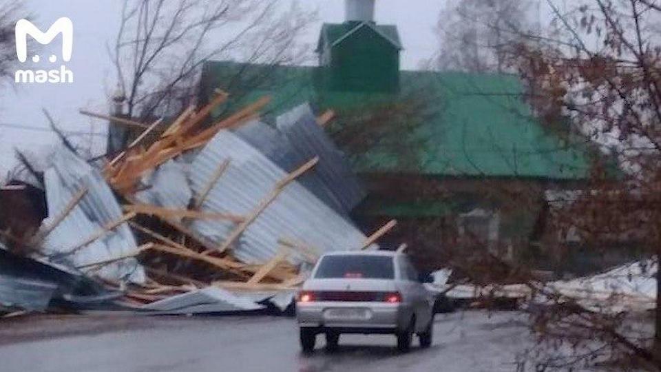 Ураган в Удмуртии: один человек погиб