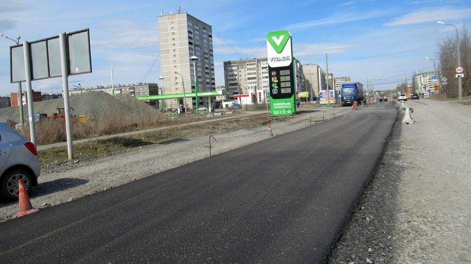 Капитальный ремонт дороги регионального значения ведется на Барабановском тракте