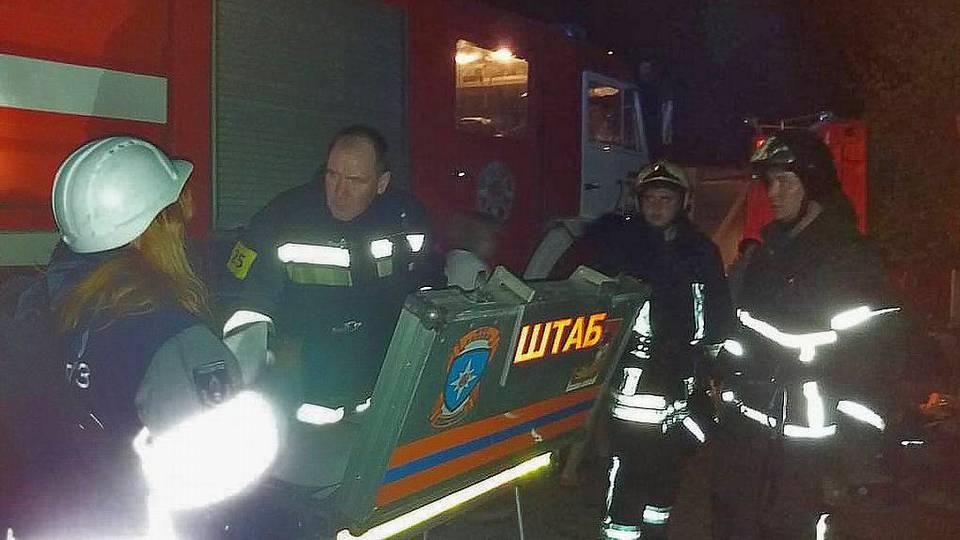 В Красногорске сгорел хоспис, погибли 9 пенсионеров